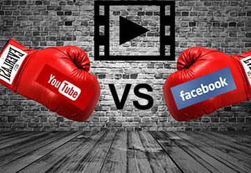 יוטיוב לעומת פייסבוק
