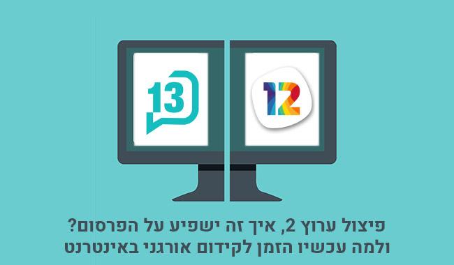 פיצול ערוץ 2 ופרסום בערוץ 2