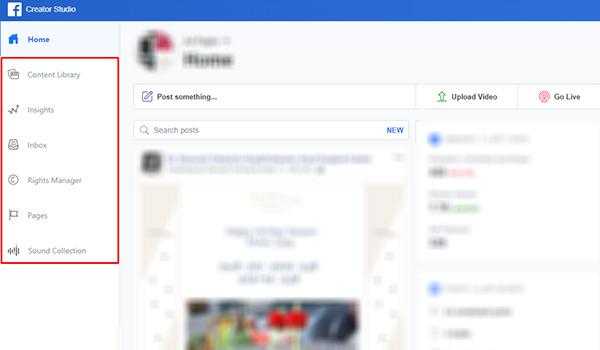 איך נראה Facebook Creator Studio